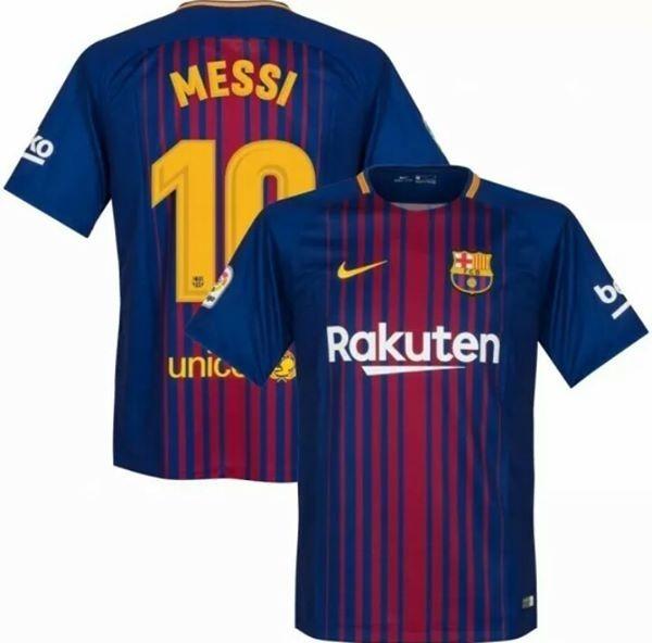 Camisa Nike Barcelona Home 2018 Nº10 Messi - Frete Grátis - R  85 c074eb4427c79