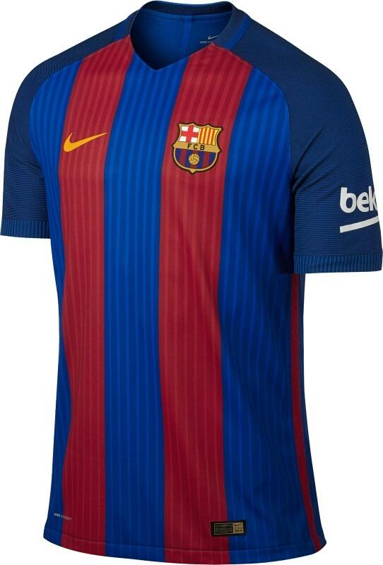 Camisa Nike Barcelona I 2016 2017 Torcedor Masculina - R  150 b433936b269aa
