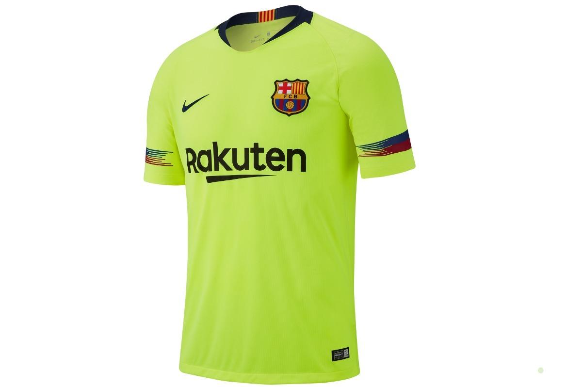 56e79aefd1 camisa nike barcelona ii 2018 19 torcedor masculina 918990. Carregando zoom.