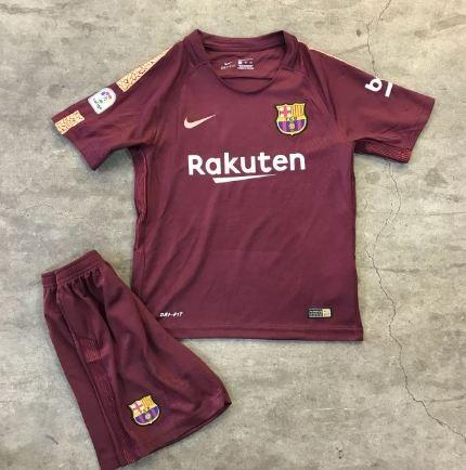 Camisa Nike Barcelona Iii 2017 2018 Torcedor Infantil - R  179 50cd48696de0b