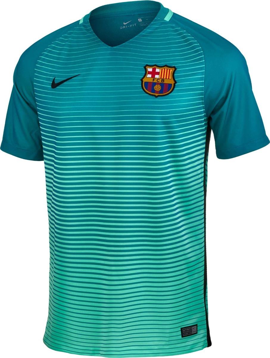 Camisa Nike Barcelona Iii Original 2bros - R  179 870bc8ba1ba4f