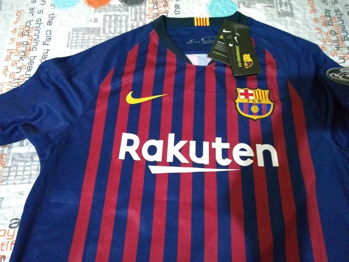 cf758187be camisa nike barcelona messi 10 2019 champions league oficial. Carregando  zoom.