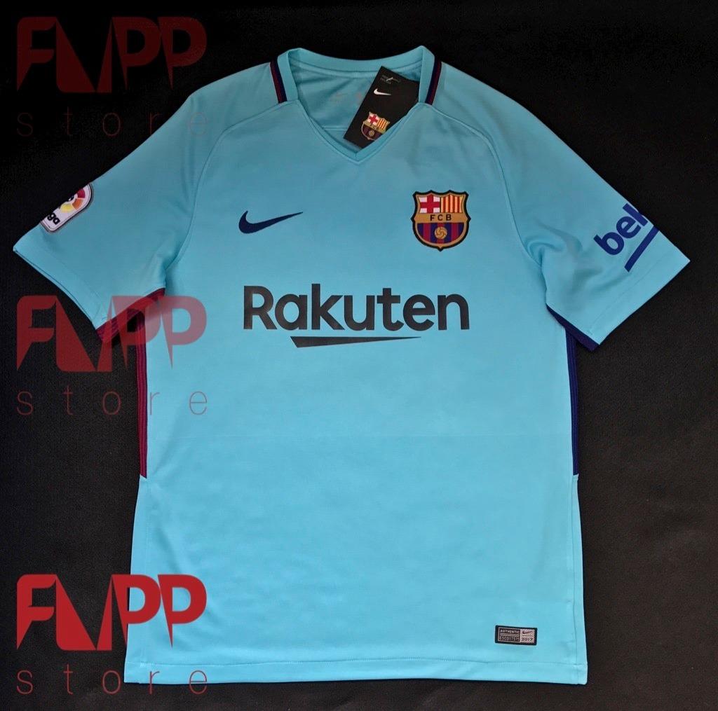 camisa nike barcelona oficial 2018 pronta entrega away. Carregando zoom. 7dbbf441b99