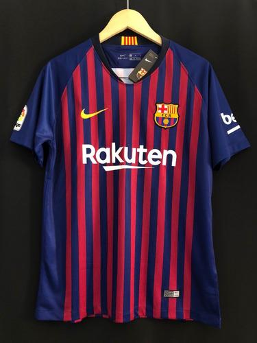 0ea1ea617d camisa nike barcelona oficial 2019 home messi, coutinho... Carregando zoom.