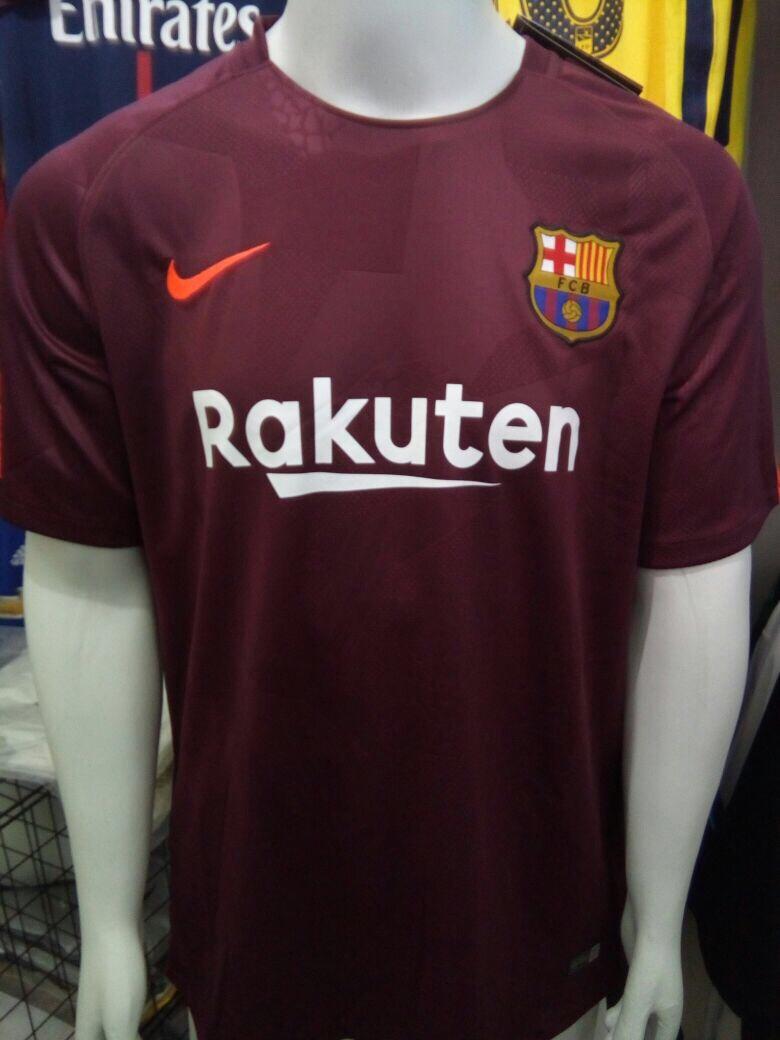 camisa nike barcelona third 2018 s n°-torcedor - vinho. Carregando zoom. 8788be1011737
