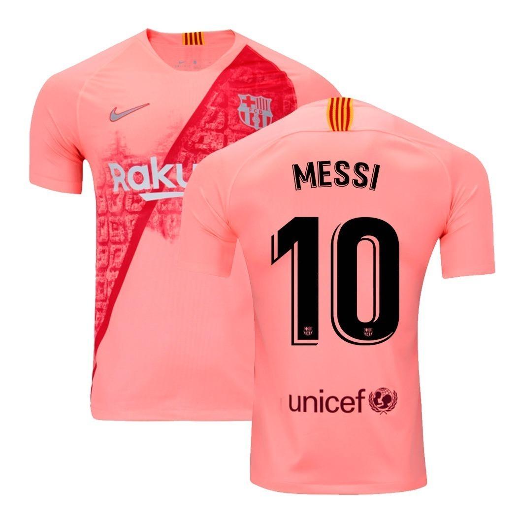4b2adf3843 camisa nike barcelona third 2018/2019 messi 10 original. Carregando zoom.