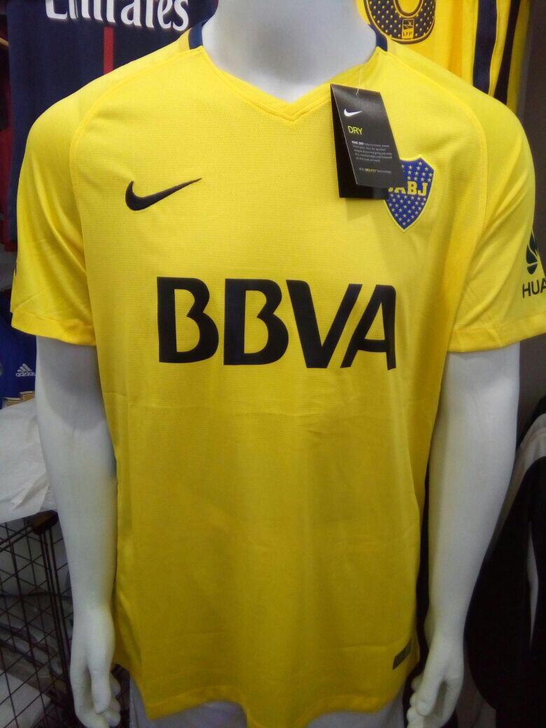 38ae8d06a9 camisa nike boca juniors away 2018 - torcedor - amarela. Carregando zoom.