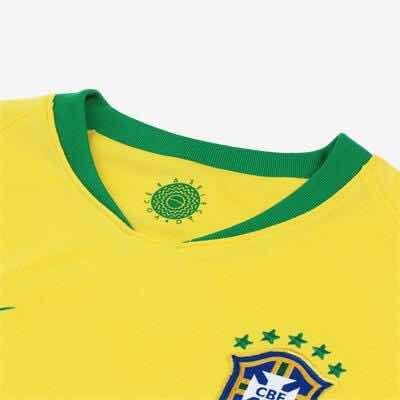 Camisa Nike Brasil 2018-19 Torcedor Infantil Original Barato - R ... 966a8c70d3b3c