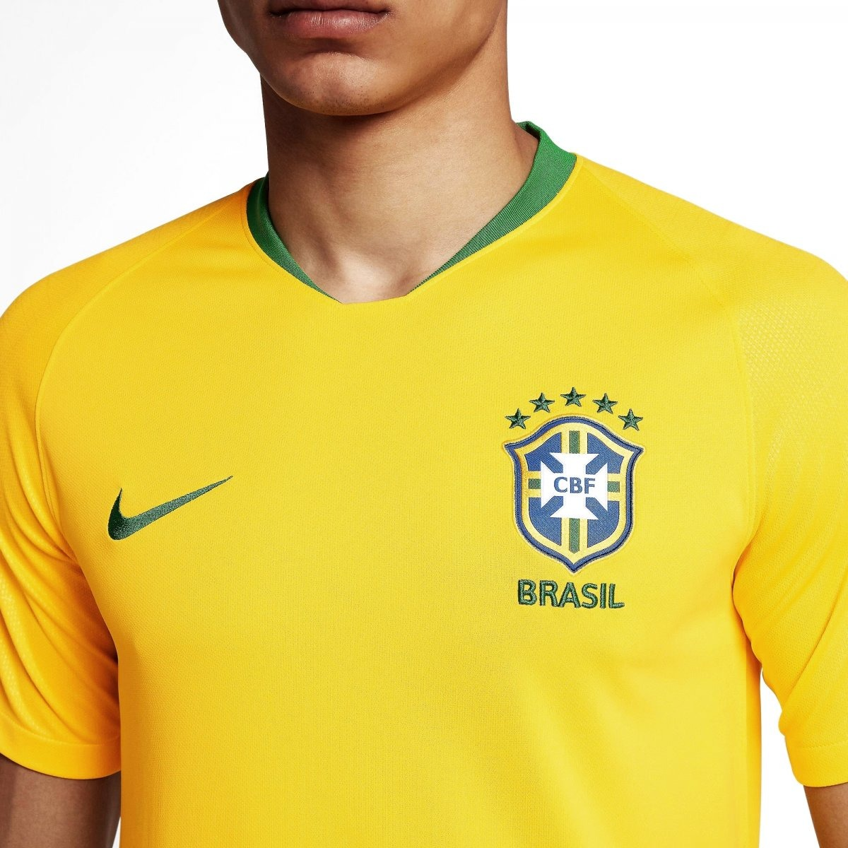 Camisa Nike Brasil 2018 Cbf Torcedor Home 893856 16c96fb87cb
