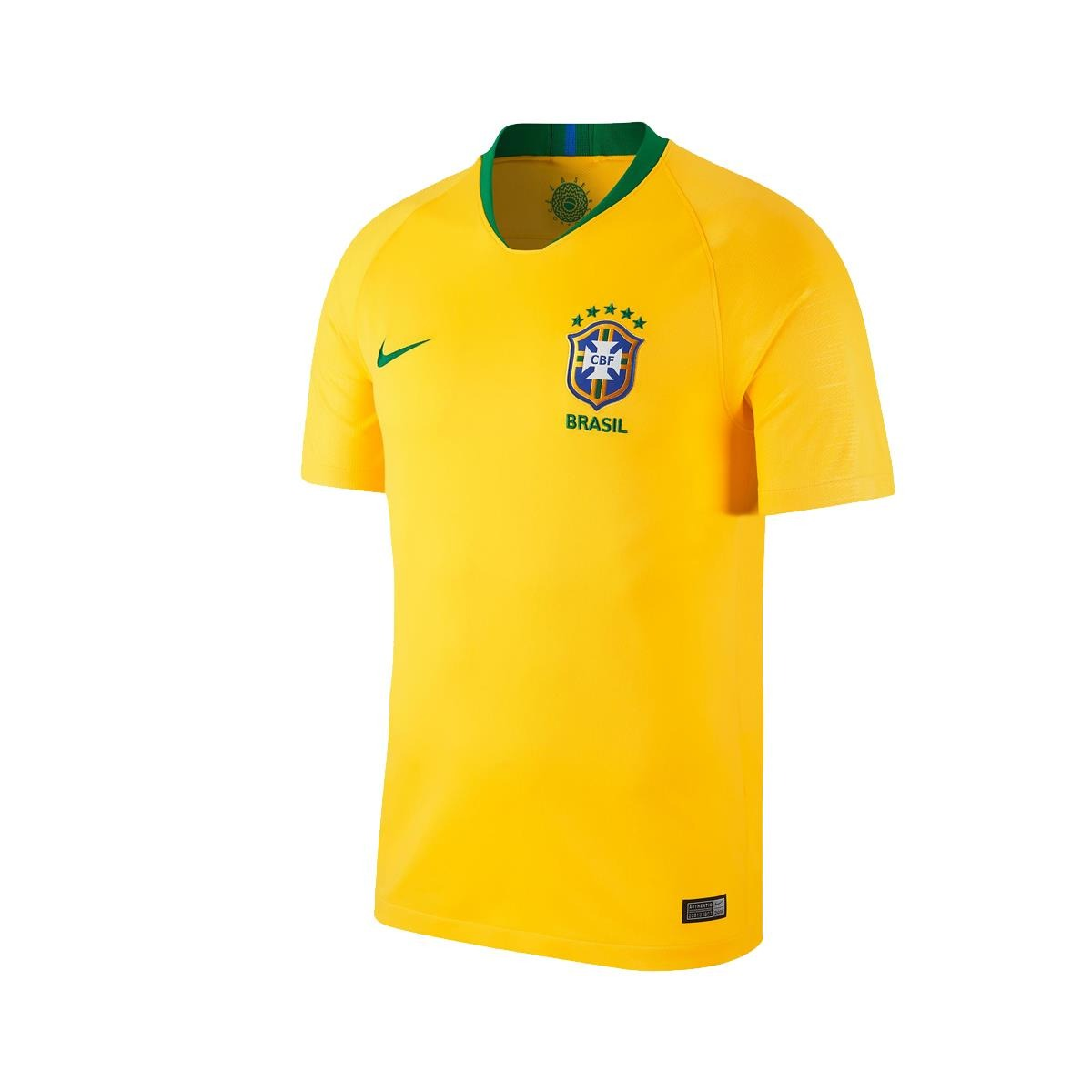 camisa nike brasil 2018 19 torcedor masculina gg. Carregando zoom. 35fd62805bbe9