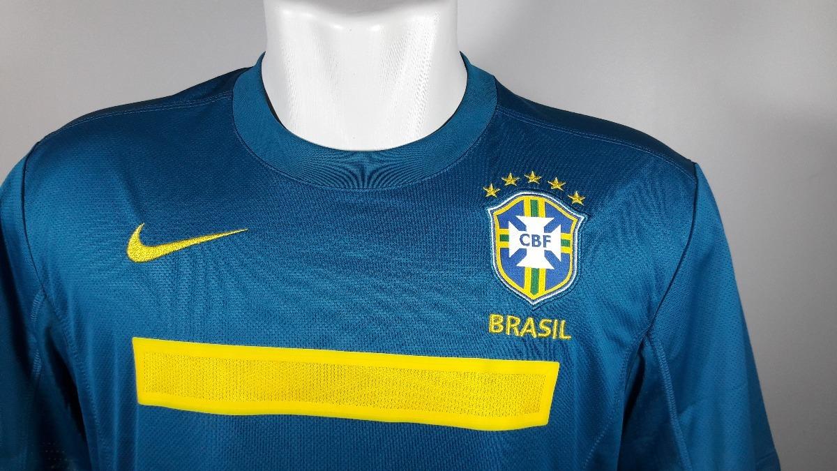 44932fda27 camisa nike brasil away 2011 nova. Carregando zoom.