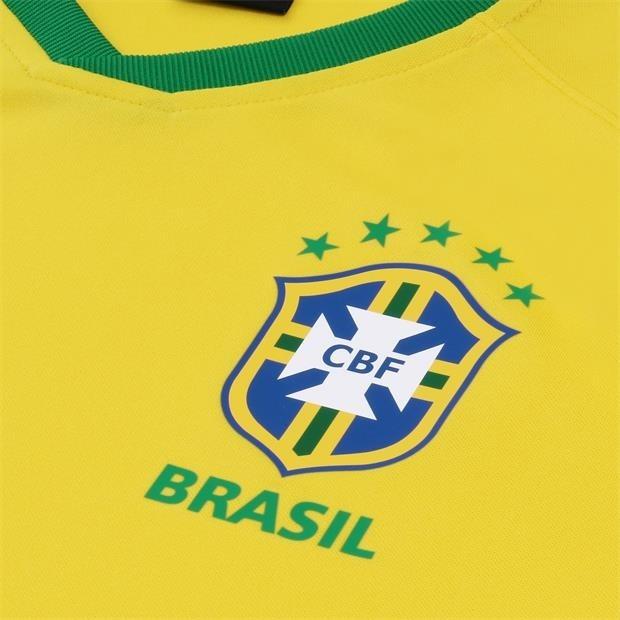 9e89417372ea8 Camisa Nike Brasil I 2018 19 Torcedor Masculina 893853 - R  189