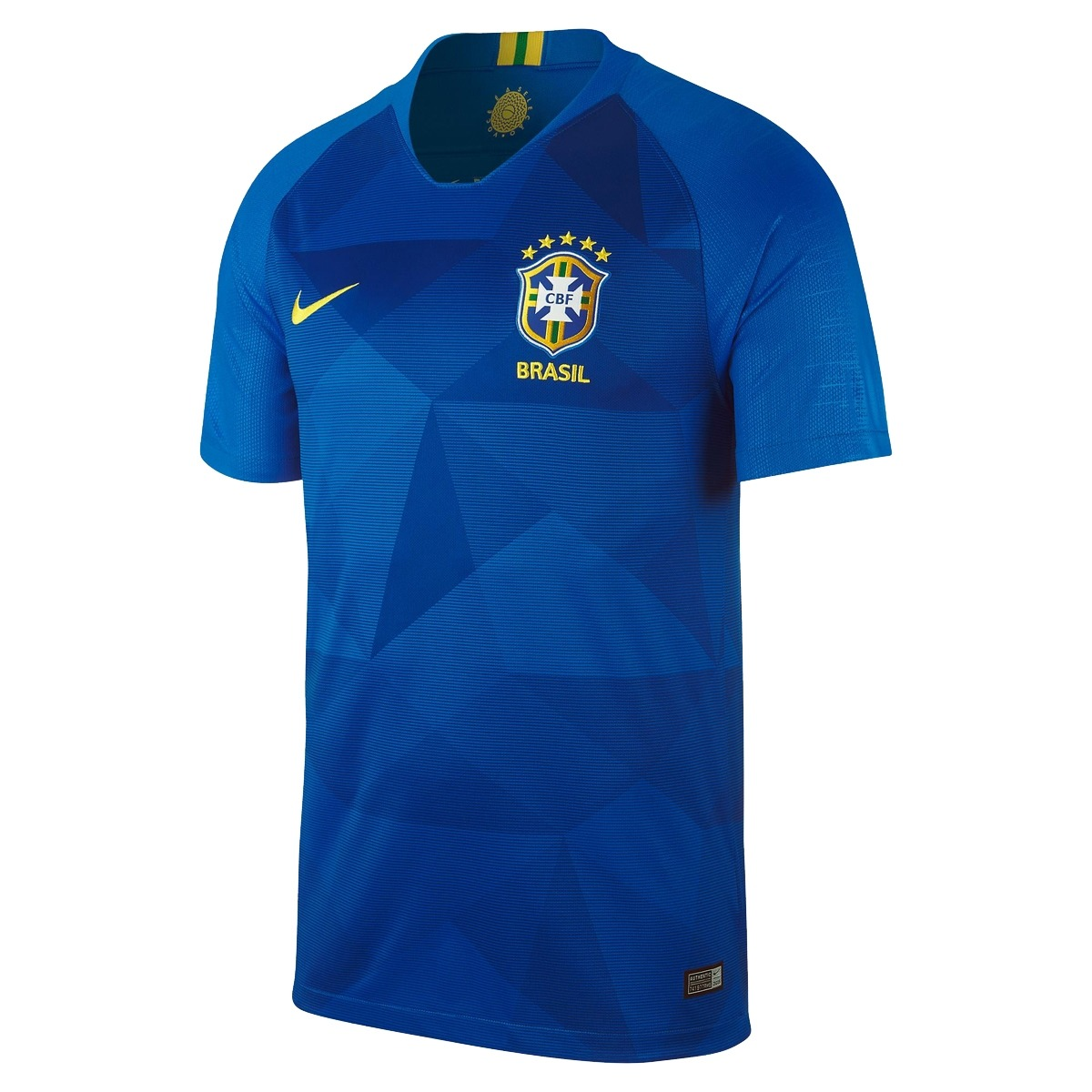 camisa nike brasil ii 2018 19 torcedor masculina m. Carregando zoom. 133027ea0fbef