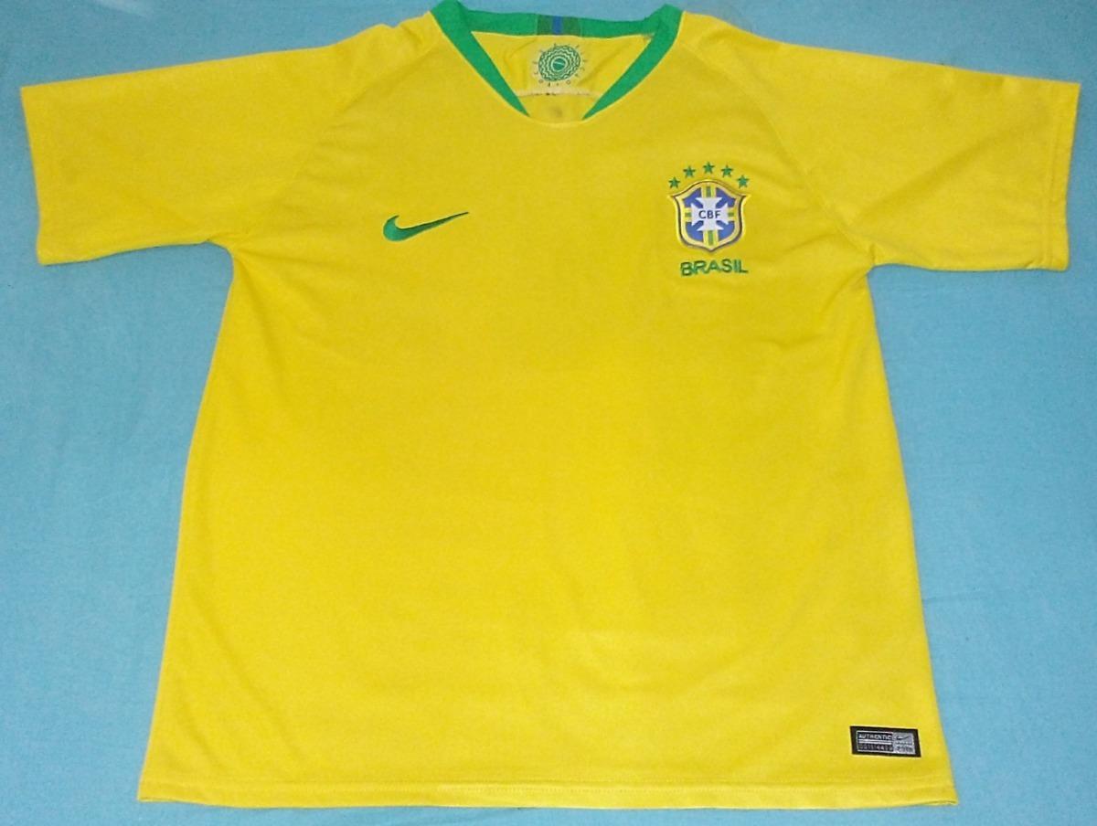 9143b6f712 camisa nike brasil seleção brasileira  sn copa 2018 original. Carregando  zoom.