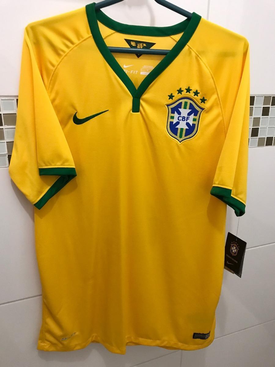 96377296f5 Camisa Nike Brasil Seleção Copa 2014 - 2 Daniel Alves - R  199
