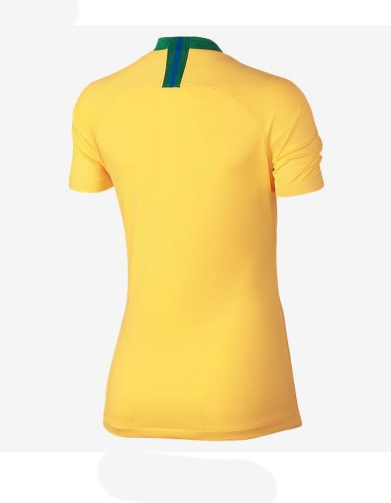 camisa nike cbf brasil i torcedora feminina original nike. Carregando zoom. bd891f532a590