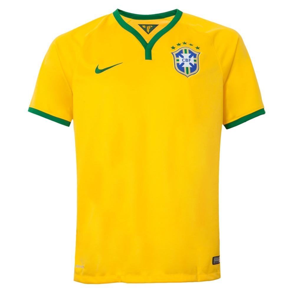 camisa nike cbf brasil seleção i torcedor oficial 575281-703. Carregando  zoom. 7ca9220cf84