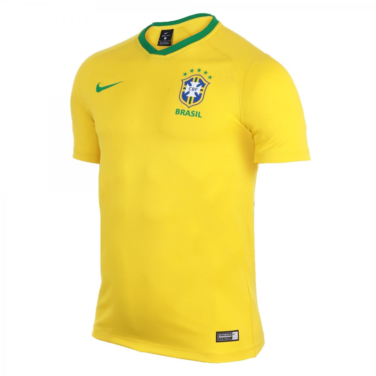 3a102e2208 Camisa Nike Cbf Brasil Torcedor Estádio 2018 19 893853