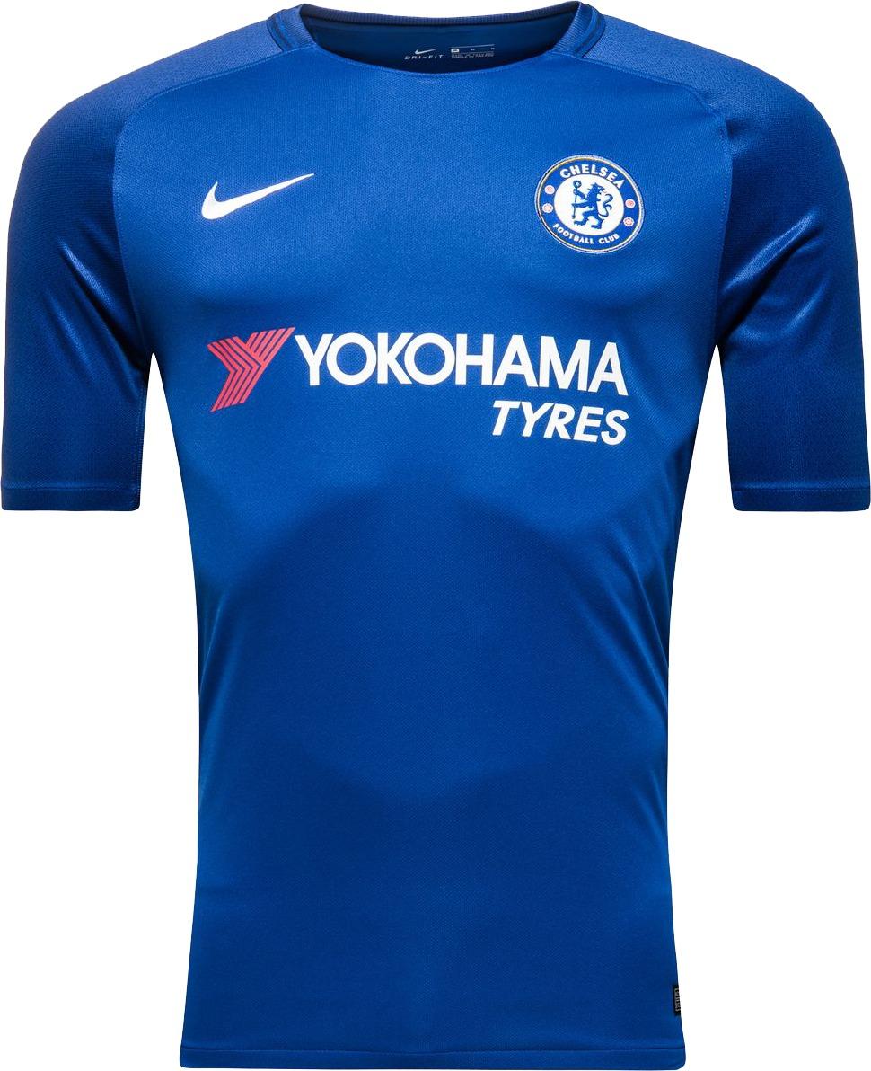 Camisa Nike Chelsea Home 2017 2018 Azul - Pronta Entrega - R  169 6e281c8745af5