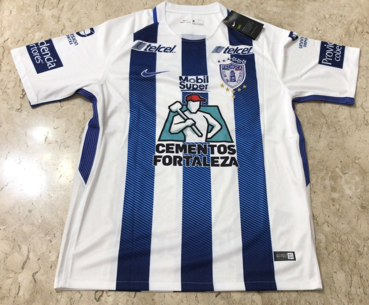 Camisa Nike Club Pachuca 2017-2018 - Pronta Entrega! - R  169 1942784d5c604