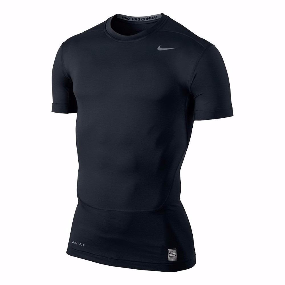 bf3bfd515d Camisa Nike Compressão Pro Combat Manga Curta Tam. Egg - R  125