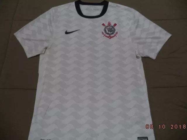 793031af2c Camisa Nike Corinthians 2012 Libertadores E Mundial - Tam P - R  129 ...