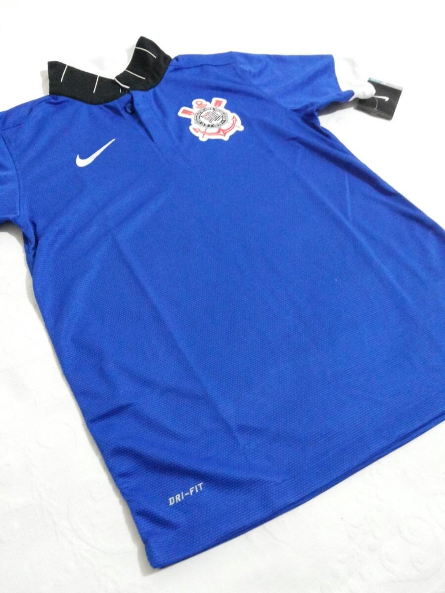 d0ca03cd3d camisa nike corinthians azul feminina novaa. Carregando zoom.