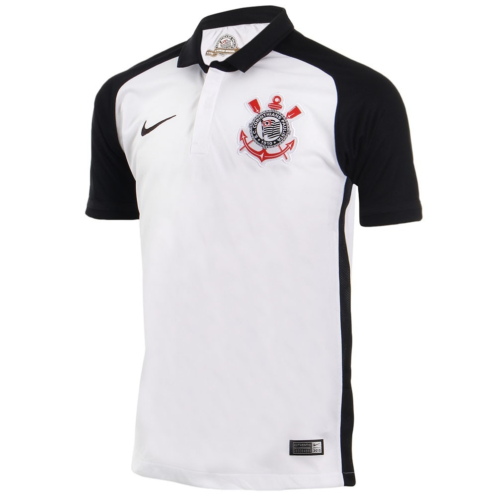 Camisa Nike Corinthians I 15 16 Torcedor N10 Original Freecs - R ... 1a150a5cd85fb
