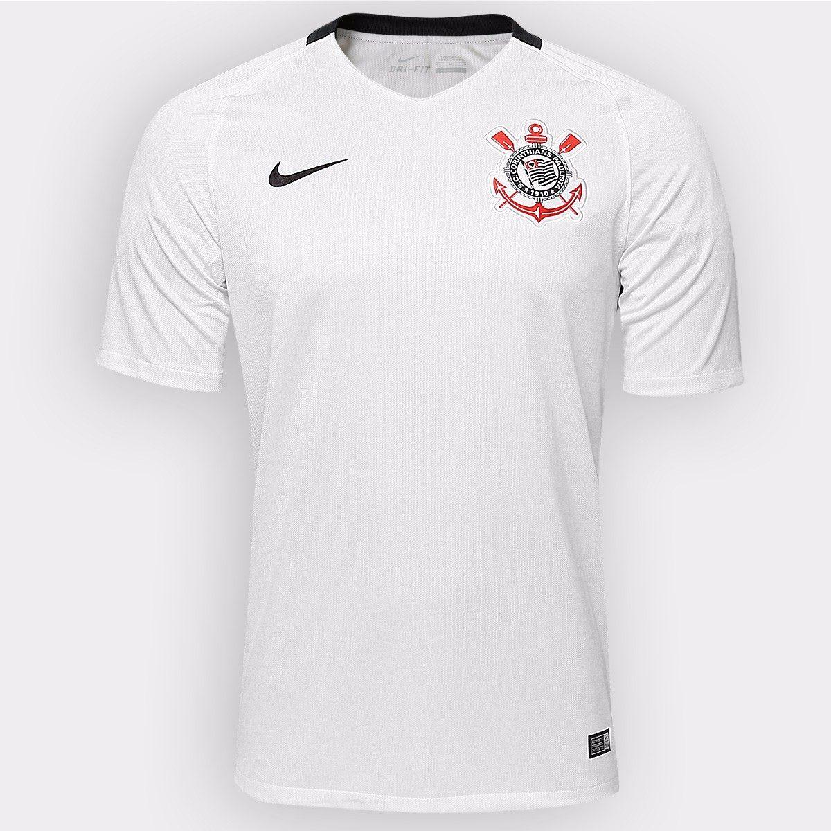 camisa nike corinthians i 16 17 s nº masculina 100% original. Carregando  zoom. b459196937c72