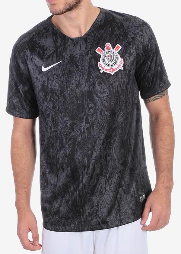 camisa nike corinthians ii 2018 19 torcedor promoção. Carregando zoom. 9b86b5ba0944f