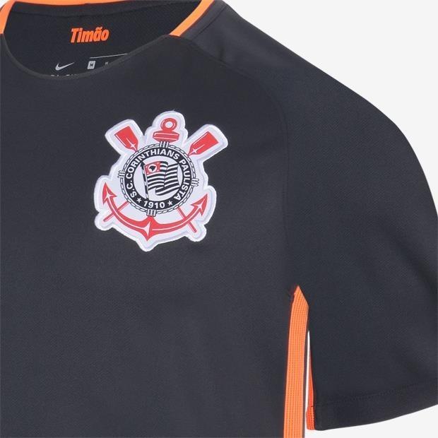 Camisa Nike Corinthians Iii Torcedor Masculina - R  129 12f90cf5ee96f