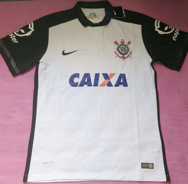 Camisa Nike Corinthians Jogador 2015 2016 - Pronta Entrega! - R  169 ... 85bfaf1aecb3c