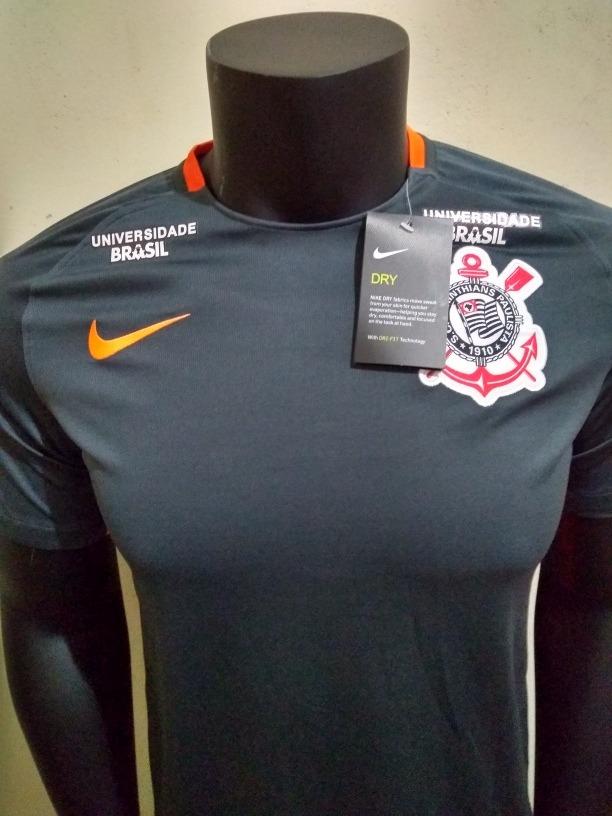 Camisa Nike Corinthians Third 17 18 (personalizada) - R  150 639ed5fa59a7b