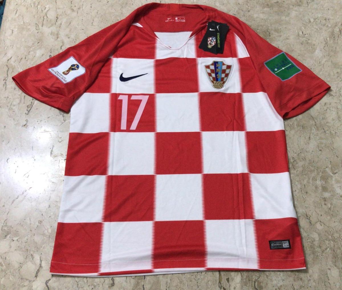 camisa nike croácia 2018 patches copa da rússia. Carregando zoom. 514a98c739725