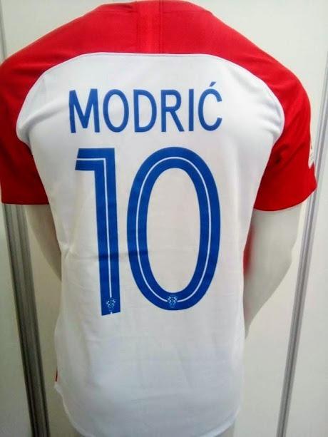 Camisa Nike Croácia Home 2018 Modric 10 Oficial - Final Copa - R ... f5dc707d5d476