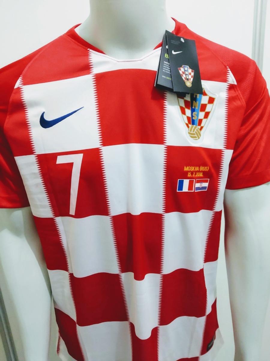 camisa nike croácia home 2018 rakitic 7 oficial - final copa. Carregando  zoom. 0890a82a31138