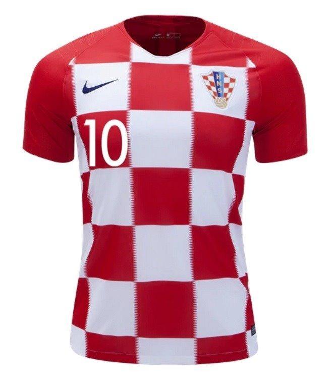 a25d68ffa6c40 Camisa Nike Da Croácia 2018 C  Personalização E Frete Grátis - R ...