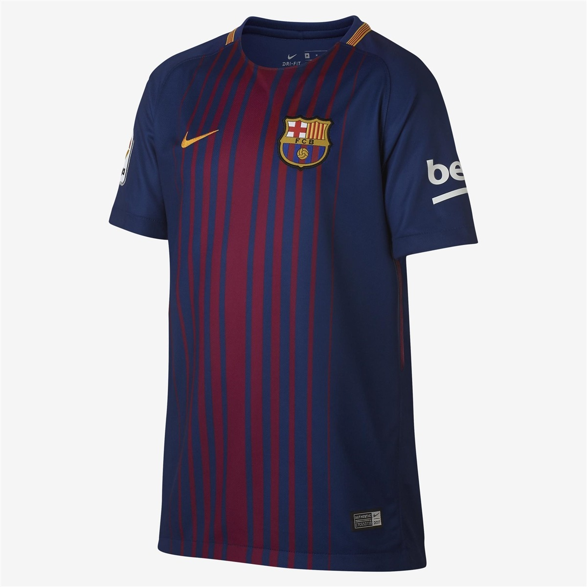 camisa nike fcb barcelona uniforme 1 torcedor 17 18 infantil. Carregando  zoom. 5e28761d115