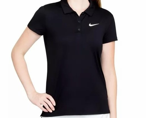f8fbc7aaf3aaa Camisa Nike Feminina Polo 830421 - R  188