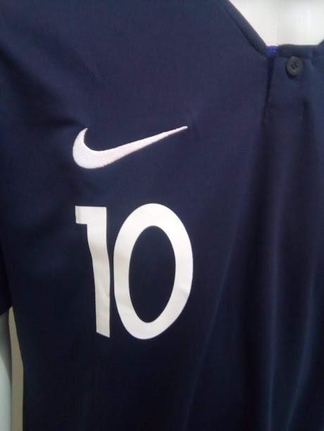 756709c288 Camisa Nike França Home Mbappe 10 2018 Oficial - Final Copa - R  169 ...