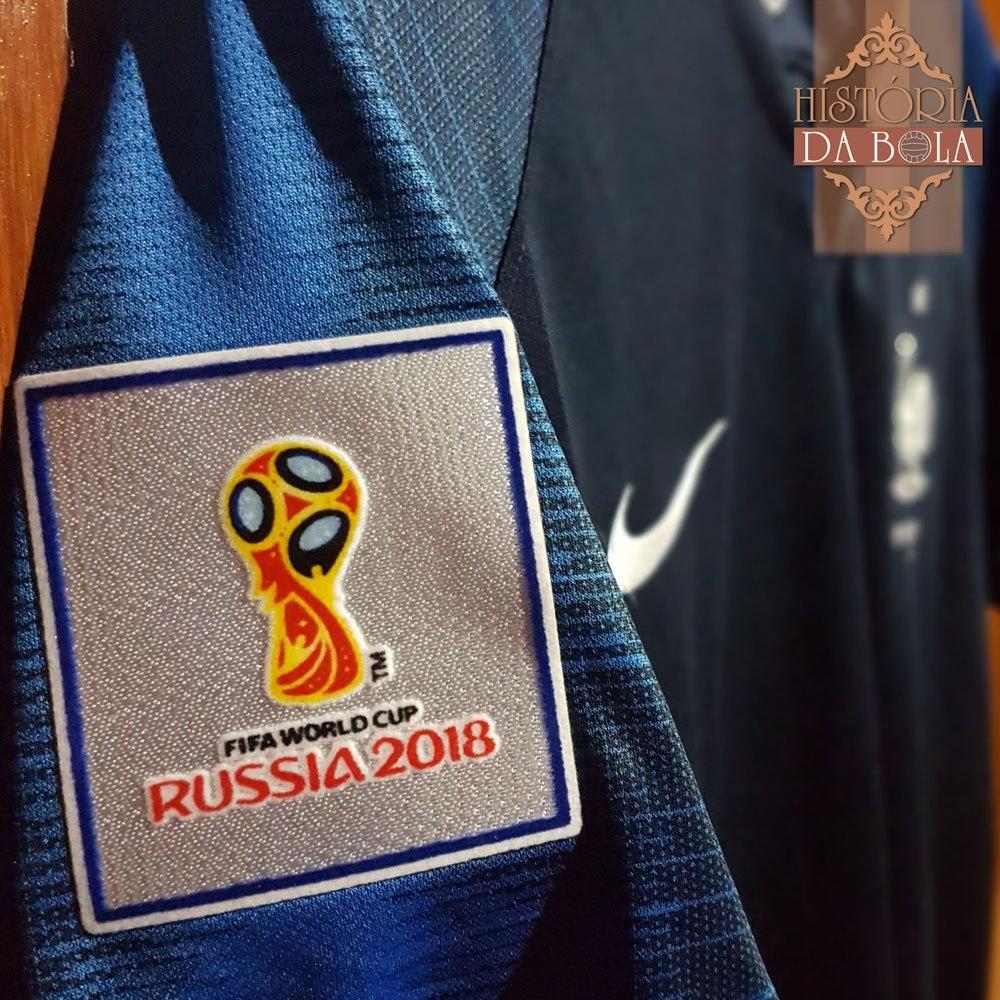 218447737e camisa nike futebol frança campeão copa do mundo 2018. Carregando zoom.
