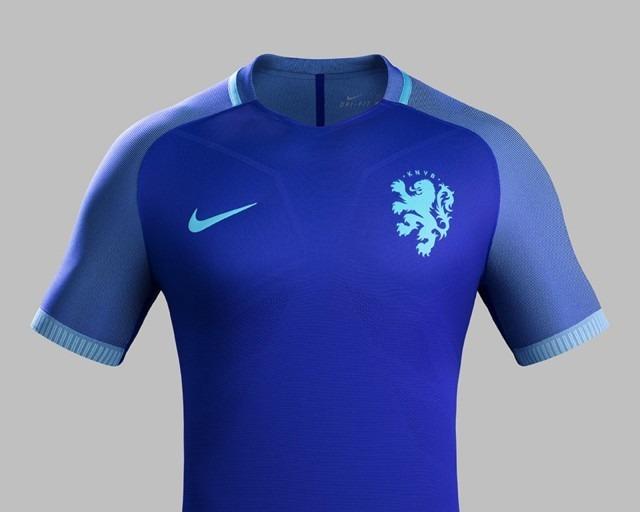 513953007e Camisa Nike Holanda Away 2016 S nº - Azul Masculino - R  129