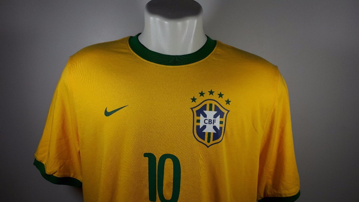 Camisa Nike Home Seleção Brasileira Nova Oficial C  Etiqueta - R ... 65df9959842d6