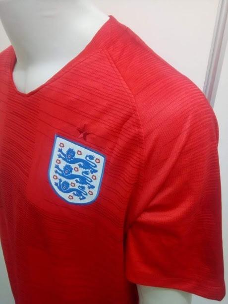 06abc0be13361 Camisa Nike Inglaterra Away Harry Kane 9 Oficial - Vermelha - R  139 ...