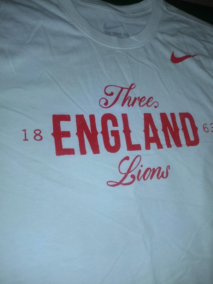 camisa nike inglaterra three lions original - tamanho m. Carregando zoom. 183f30a92c3c3