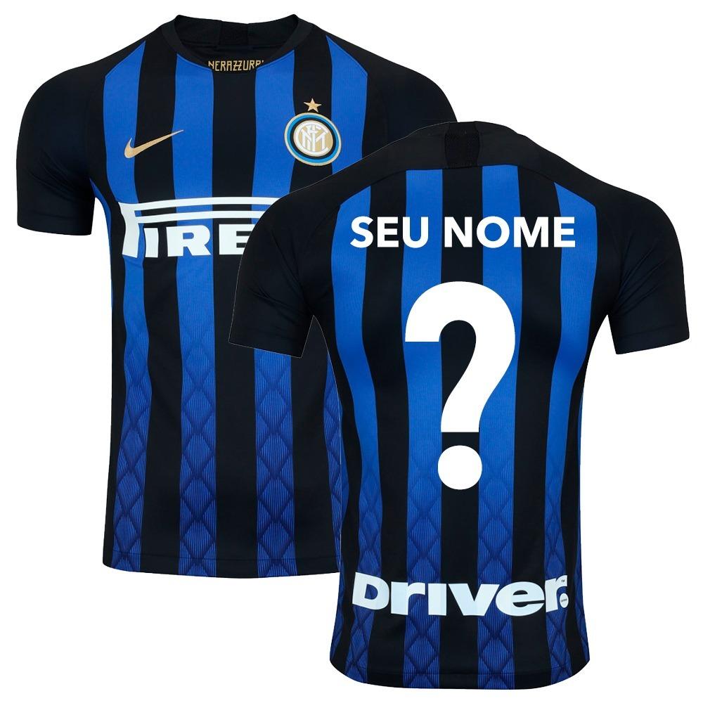 camisa nike inter de milão home 2018 19 icardi original. Carregando zoom. df3540e7aa6ac