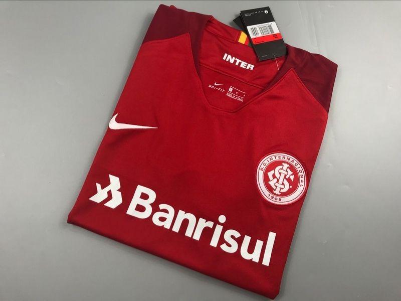 a527f69c4 camisa nike internacional i 2018 s  n° - torcedor - vermelha. Carregando  zoom.