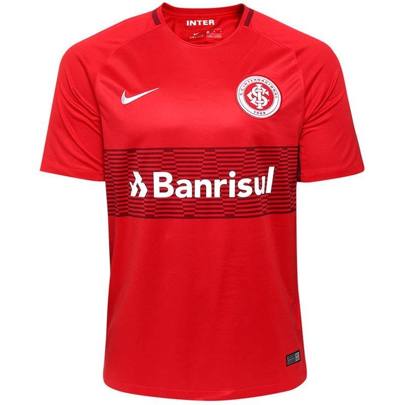 4227c6d692 Camisa Nike Internacional I 2018 S  N° - Torcedor - Vermelha - R ...