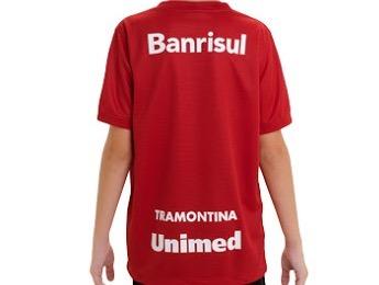 31e4f8530ee29 Camisa Nike Internacional Oficial 2013 Sem Número Infantil - R  50 ...
