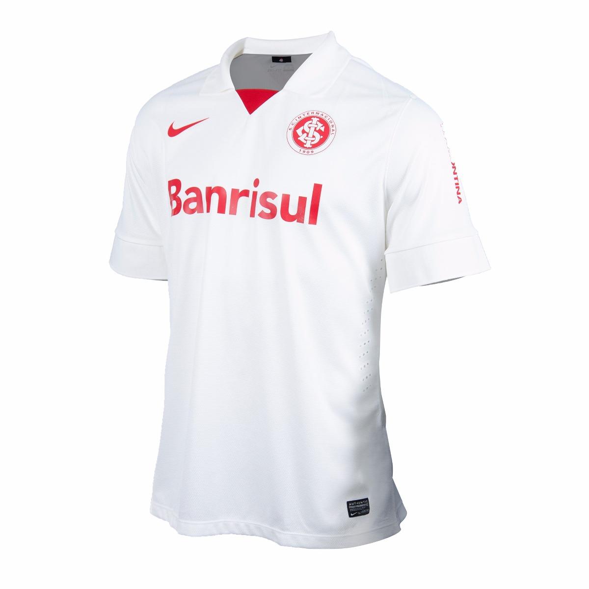 camisa nike internacional oficial jogador branca. Carregando zoom. 619046b1b4aad